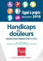 HandicapsDouleursREGLEMENT_AppelAProjets2019_Fondation APICIL